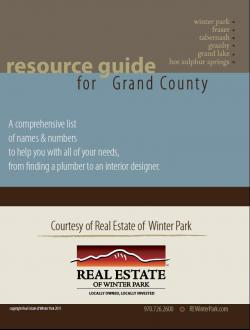 Grand County Real Estate Resource Guide – by Julie White