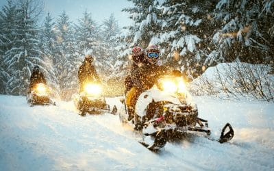 Where Is the Best Winter Park Snowmobiling?